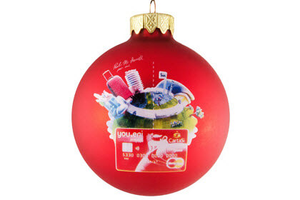 full colour kerstballen