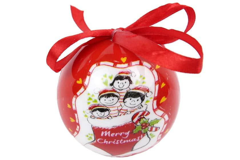 Ongekend Custom-made kerstballen bedrukken | zelf samenstellen | Promoboer GU-52
