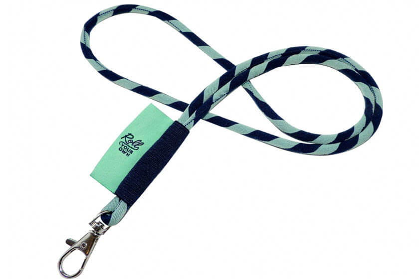 ronde keycords met label bedrukt
