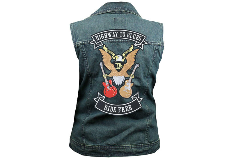 grote patches rugemblemen motor biker clubs