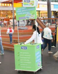 Promotiestand outdoor custom-made