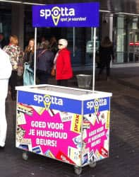 promotiestands outdoor
