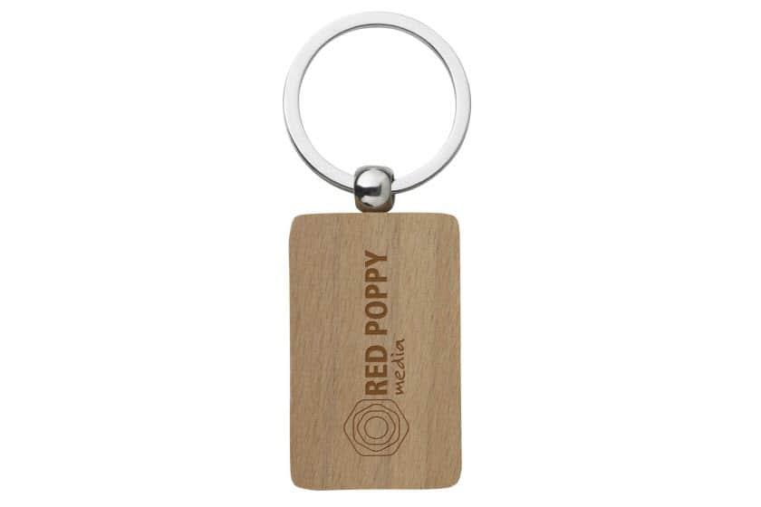 Sleutelhangers bedrukken met logo promoboer - Wekelijkse hout ...
