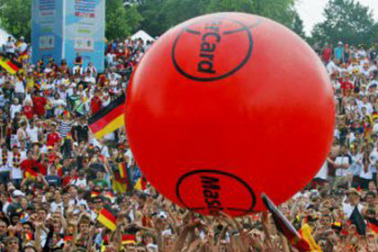 crowd balls 1m met logo