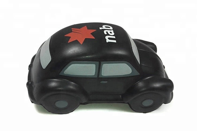 stressbal auto verkeer transport
