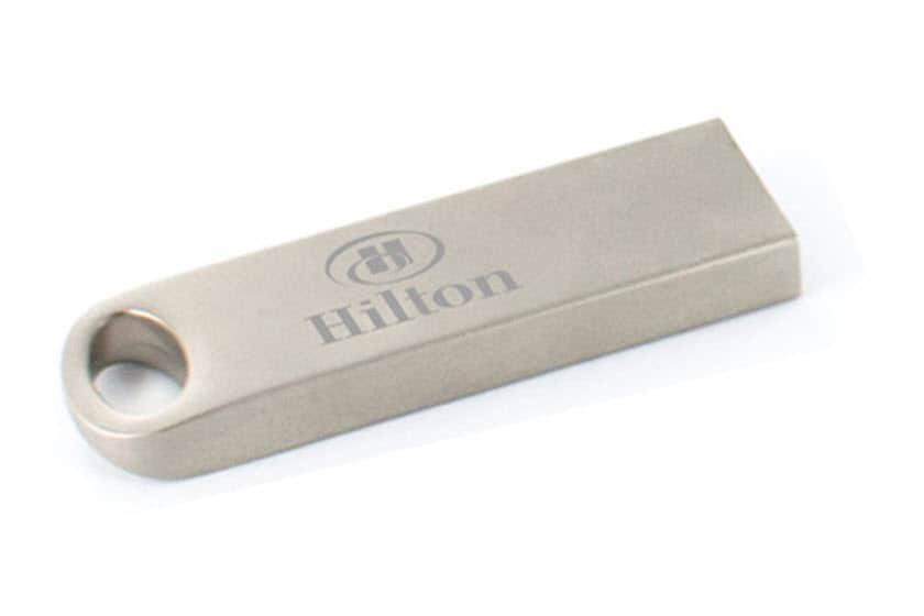 Metalen usb stick logo graveren