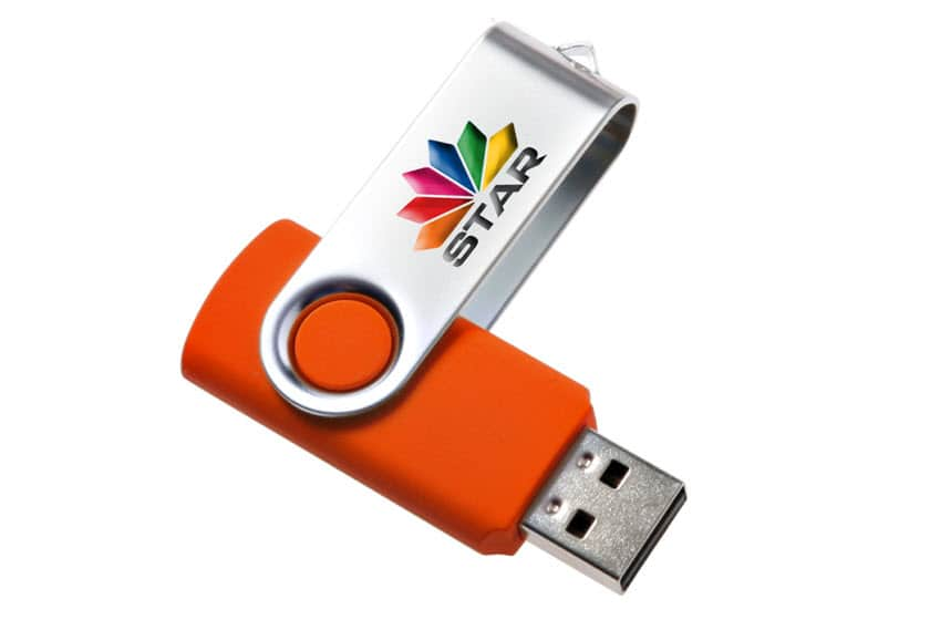 Twister usb sticks full colour graveren