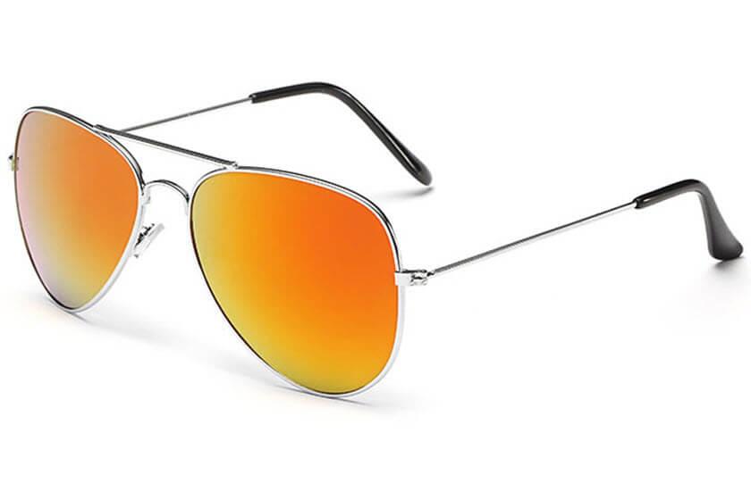 089d5b6cf6183c Pilotenbrillen met logo op de lens