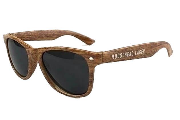 a9736ae06dc5e5 Kunststof zonnebrillen met houtlook